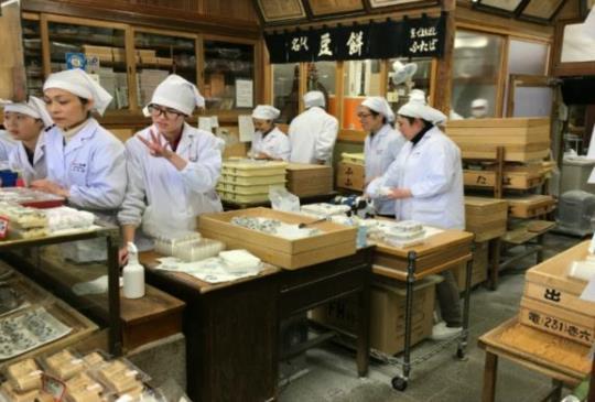 即使大排長龍 也一定要品嘗的京都百年好味道