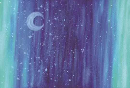 【希望化作星星,每當你抬起頭看,都可以輕易的找到,為你發亮的守候】