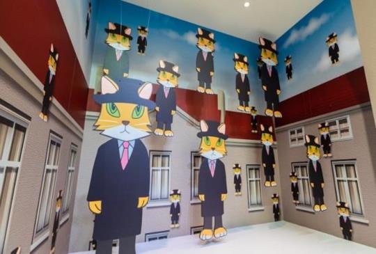 「貓美術館–CAT ART世界名畫展」 愛貓人士千萬不能錯過