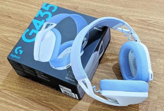 滿足遊戲與音樂的同步需求,Logitech G 輕量雙模無線藍牙耳機 G435 開箱試體驗