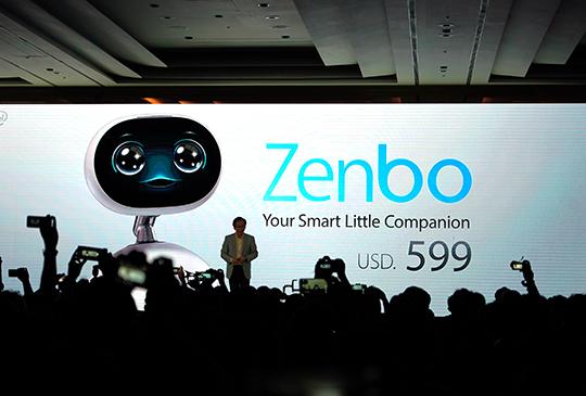 ASUS Zenbo 機器人將在台灣推出,初期僅支援英文語音操作