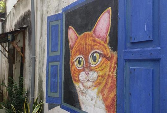 【馬來西亞】漫步喬治城舊城區,探索街頭小巷壁畫