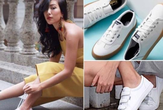 【今夏最潮小白鞋!紅遍韓國街頭、Krystal愛鞋熱賣款就是它!】