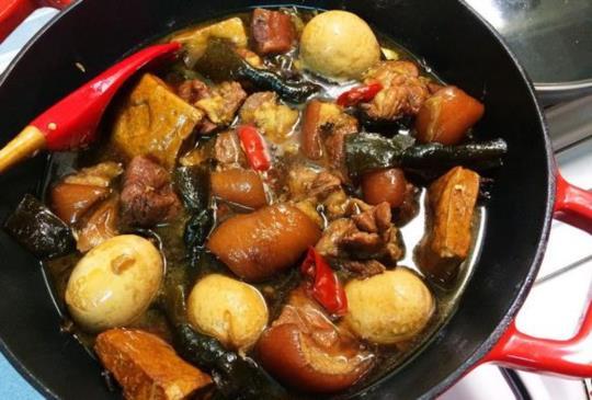 ♥煮婦女王♥的簡單食譜~讓你可以配上好幾碗白飯的家常滷肉