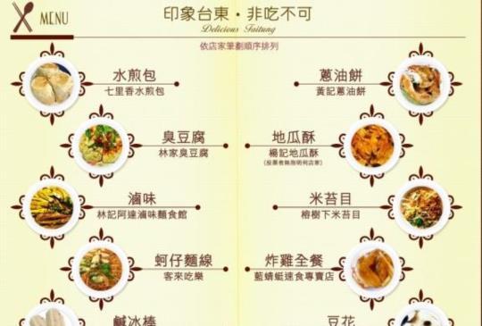 台東十大必吃美食公布 你吃過幾項?