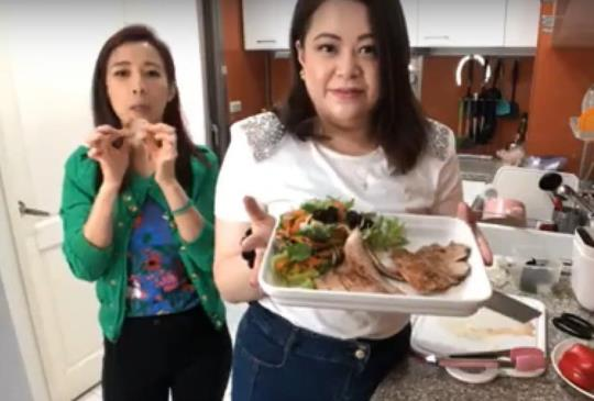 【回家吃飯】豬頸肉佐泰式風味沙拉