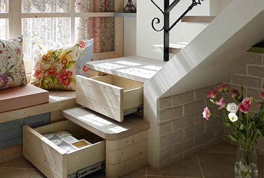 踏階變抽屜:樓梯,不只是樓梯