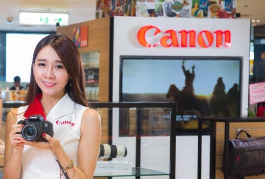 台灣首間「Canon Image Square」形象概念店正式開幕, 打造優雅舒適精緻化體驗空間