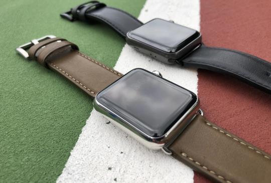 進口義大利真皮台灣手工製造,alto 超質感 Apple Watch 錶帶動手玩