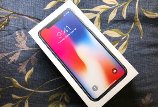 iPhone X 首波,太空灰 64GB 開箱!