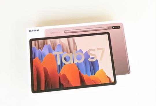 視聽娛樂俱佳旗艦級 Android 平板,Samsung Galaxy Tab S7 星霧金開箱試玩