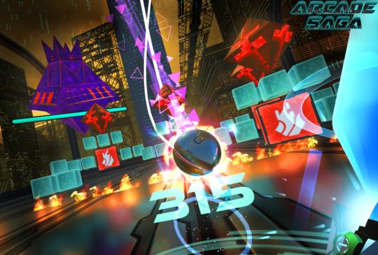 HTC Vive Studios 發表 VR 應用新作 《Arcade Saga》
