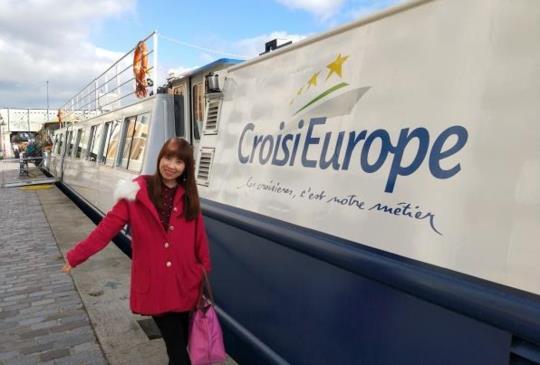 【「巴黎河輪Croisi Europe 」度過四天三夜的浪漫時光】