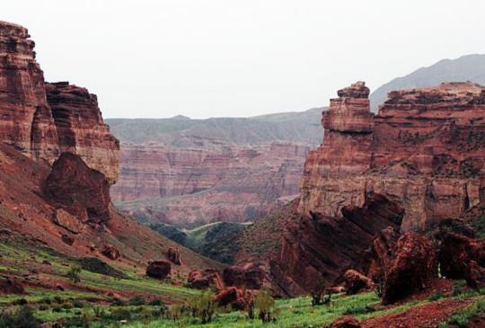 【中亞哈薩克】探險去!走訪神秘的查冷峽谷