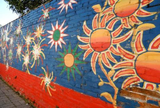【台南】復興老兵文化園區 – 巷子裡的彩繪村