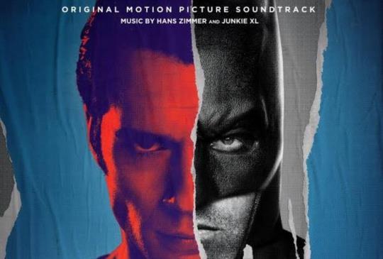 蝙蝠俠對超人:正義曙光即日首映,原聲帶已在 KKBOX 上架