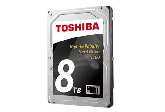 嫌 4TB 硬碟不夠?TOSHIBA 發表 8TB N300 NAS 硬碟