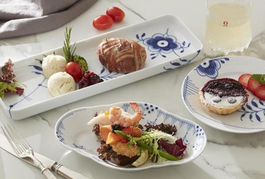 魚子醬、接骨木調味【丹麥皇家哥本哈根】仲夏美食期間限定