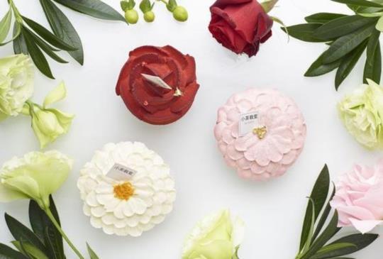 【小茶栽堂 Le Printemps 法式蛋糕新作 以茶入味花神蛋糕 春天的輕奢食感】