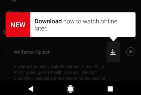 Netflix 開放下載離線觀看,限定 iOS、Android 版裝置