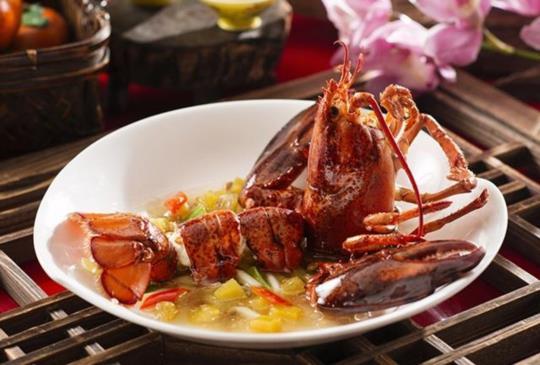 香格里拉台北遠東飯店,滬杭飄香、精采佳餚桌邊秀,饗食新體驗