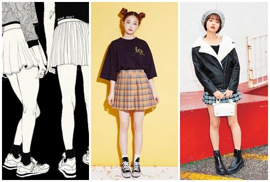 一路從韓妞火紅到日本女孩身上!迷你裙+小襪子大風潮!