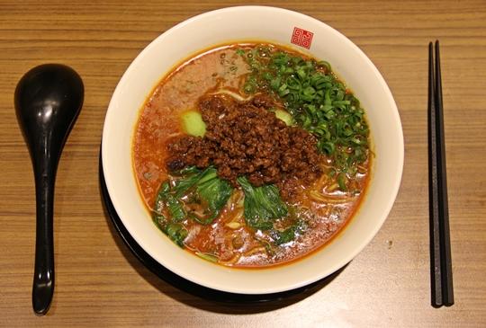 來自大阪結合中華料理的新日式拉麵【四川辣麵しせんらめん】台中逢甲店