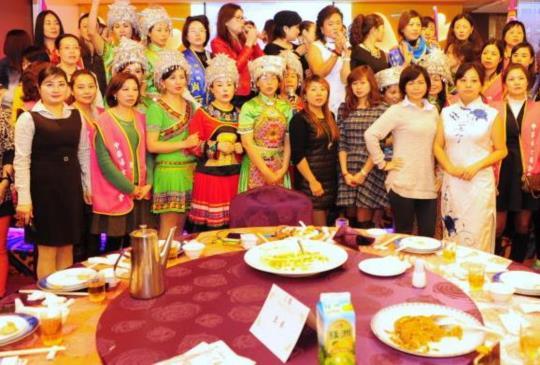 中華婦女聯合會,盼成為陸配的第二娘家