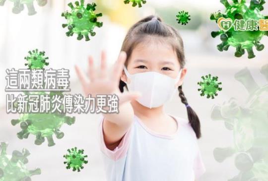 比新冠肺炎傳染力更強! 這兩類病毒初期會發燒、咳嗽