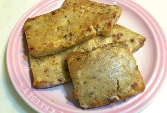 ♥煮婦女王♥的簡單食譜~在家用電鍋蒸蘿蔔糕,一試就成功!