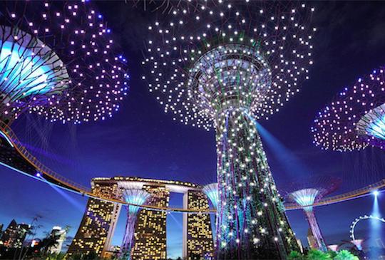 新加坡3大免費夜間燈光秀浪漫推薦