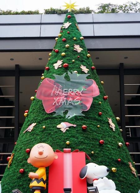 聖誕裝飾史努比