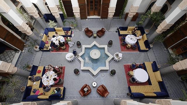 04.內行人在摩洛哥一定要入住傳統庭院住宅改建的Riad,真正走進摩洛哥人的生活。.jpg