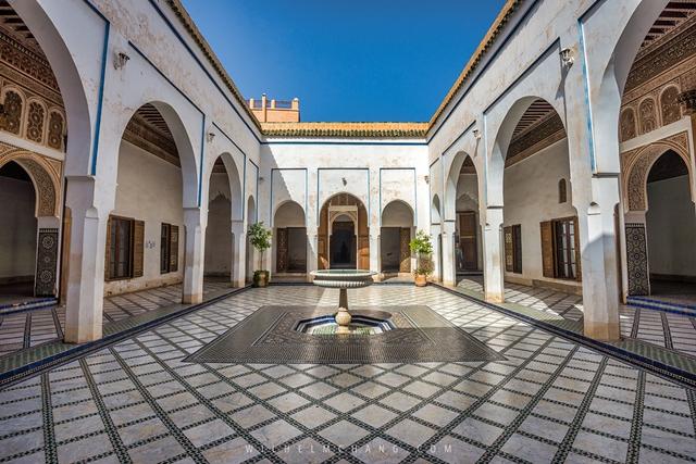 02.Palais de la Bahia巴伊亞王宮位於馬拉喀什.jpg