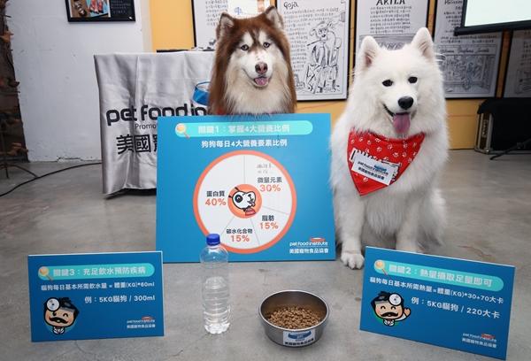 美國寵物食品協會公布寵物每日飲食指南「健康3關鍵」
