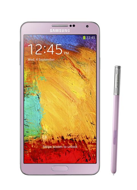 三星電子今日正式推出 Note 產品系列最新成員 GALAXY Note 3。