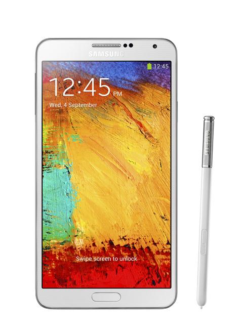全新三星 GALAXY Note 3配備進階 S Pen 功能,讓使用者每天的生活都能更便利、工作更