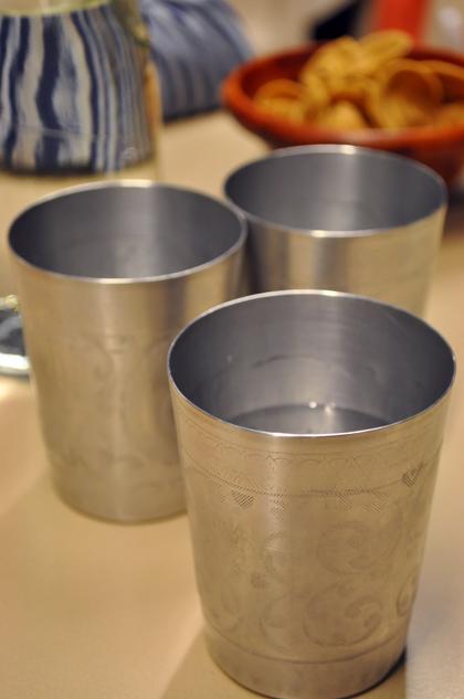 泰炘泰式料理 - 錫製品水杯