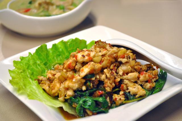 泰炘泰式料理 - 辣炒打拋雞肉