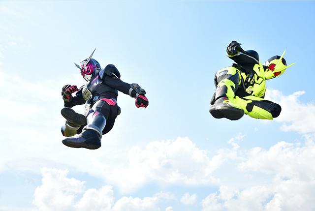 時王+ZERO ONE 飛踢