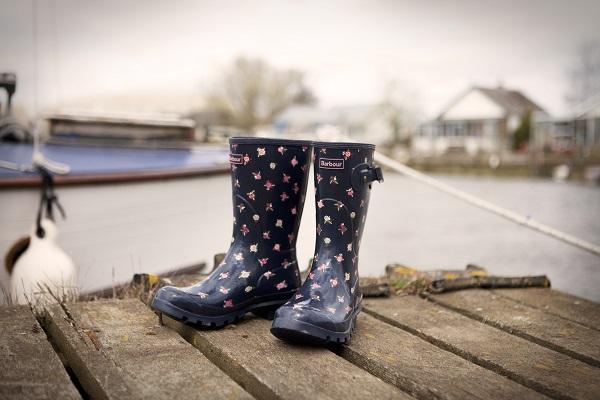 Barbour 2014 春夏短統雨靴