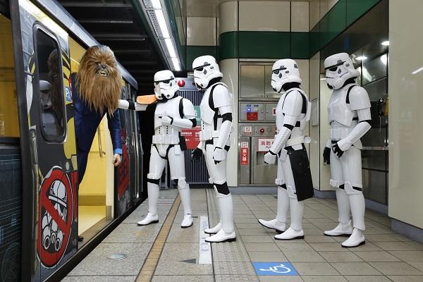 為了與星際大戰反抗軍列車擦出相遇的火花,由盧卡斯影業唯一認證的官方粉絲團體「星際大戰帝國第501師台