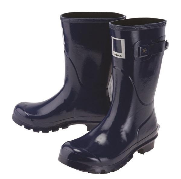 Barbour Pantone色票短筒雨靴