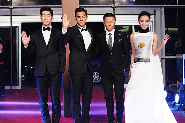 眾主創現身北京首映红毯1
