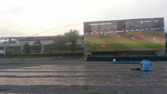 140706  台中高鐵【全台戶外最大螢幕直播足球】 萬人免費看 (3)