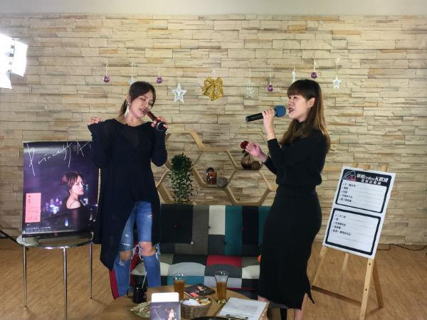 TALK TV戴愛玲與婊姐同台飆唱