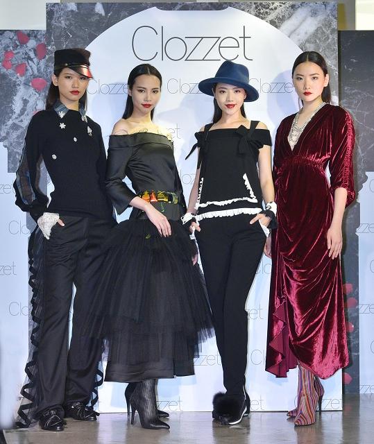 (003) Clozzet 2016秋冬獨家引進6支新品牌,並邀請凱渥名模走秀,展演摩登樂潮與硬派浪