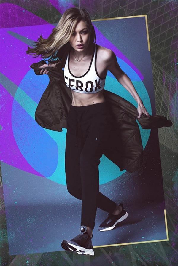 國際超模Gigi Hadid演繹全新ReeboK Pump Supreme Ultraknit