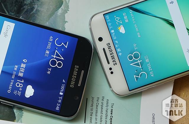 Samsung GALAXY S6 與 GALAXY S6 Edge 外觀 3.JPG
