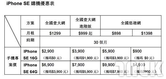 亞太電信 iPhone SE.jpg